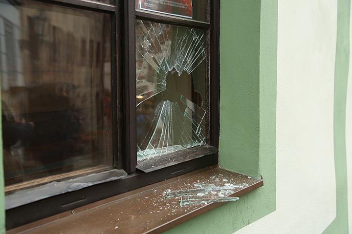 A2B Glass are able to board up broken windows while they are being repaired in North Kensington.